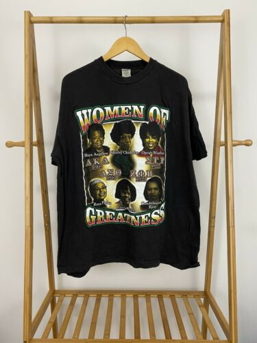 VTG Women Of Greatness Rap Tee Hip Hop Oprah Maya