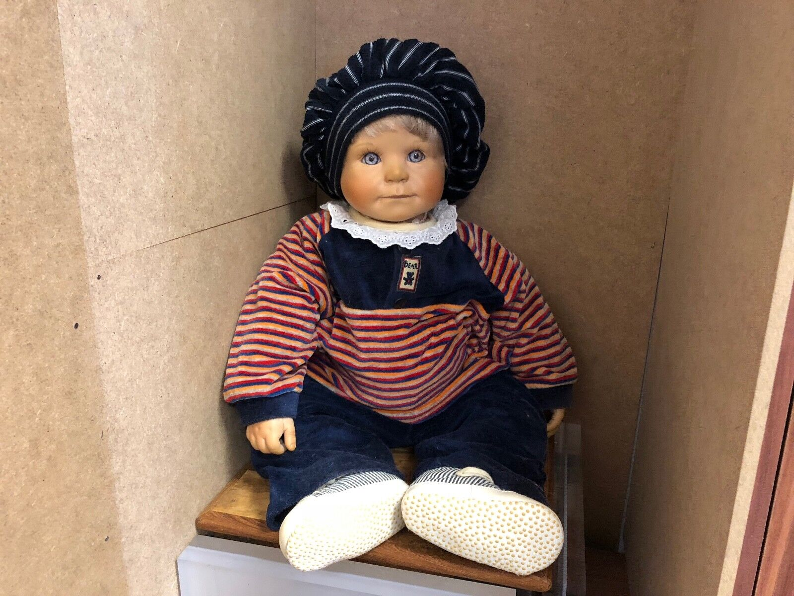 Yolanda Bello Vinyl Puppe 62 cm. Top Zustand