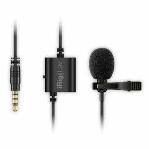 IK-Multimedia-iRig-Mic-Lav-Lavalier-Lapel-Clip-On-Microphone