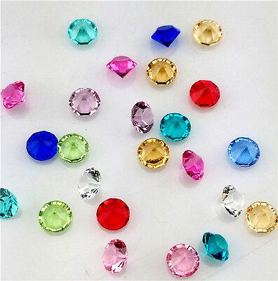 NEW 400Pcs 4mm Mix Birthstone Crystal Floating Living Memory Glass Lockets Charm