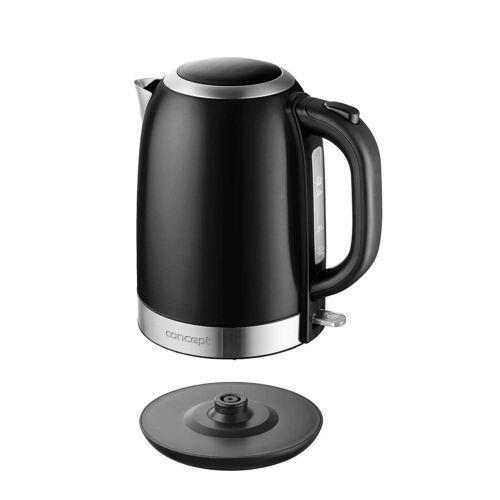 Elektrisches Wasserkocher Kessel Kabellos Edelstahl Concept 1,7Liter