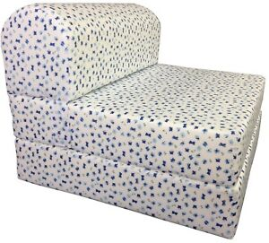 Tremendous Details About Twin 6X32X70 Flip Chair Folding Foam Beds Foldable Sofa Bed Butterflies Bralicious Painted Fabric Chair Ideas Braliciousco