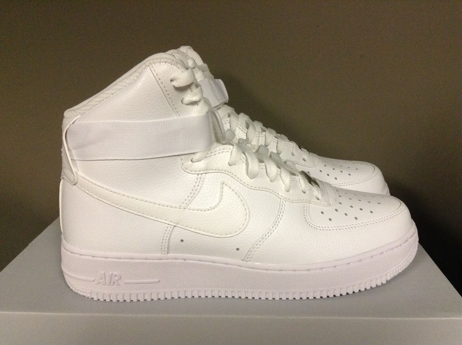 Brand discount Nike Air Force 1 High WHITE/WHITE Price reduction 315121-115