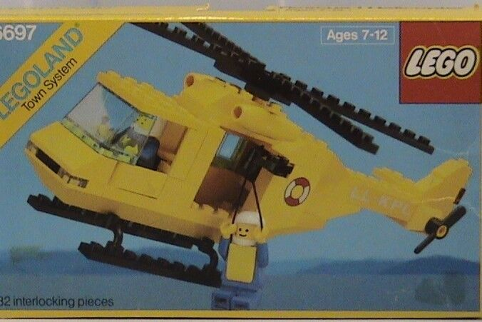 NEW Lego CLASSIC TOWN 6697 Rescue-l Helicopter  Sealed LEGOLAND