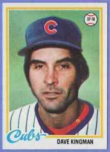 1978 Topps Dave Kingman Chicago Cubs #570