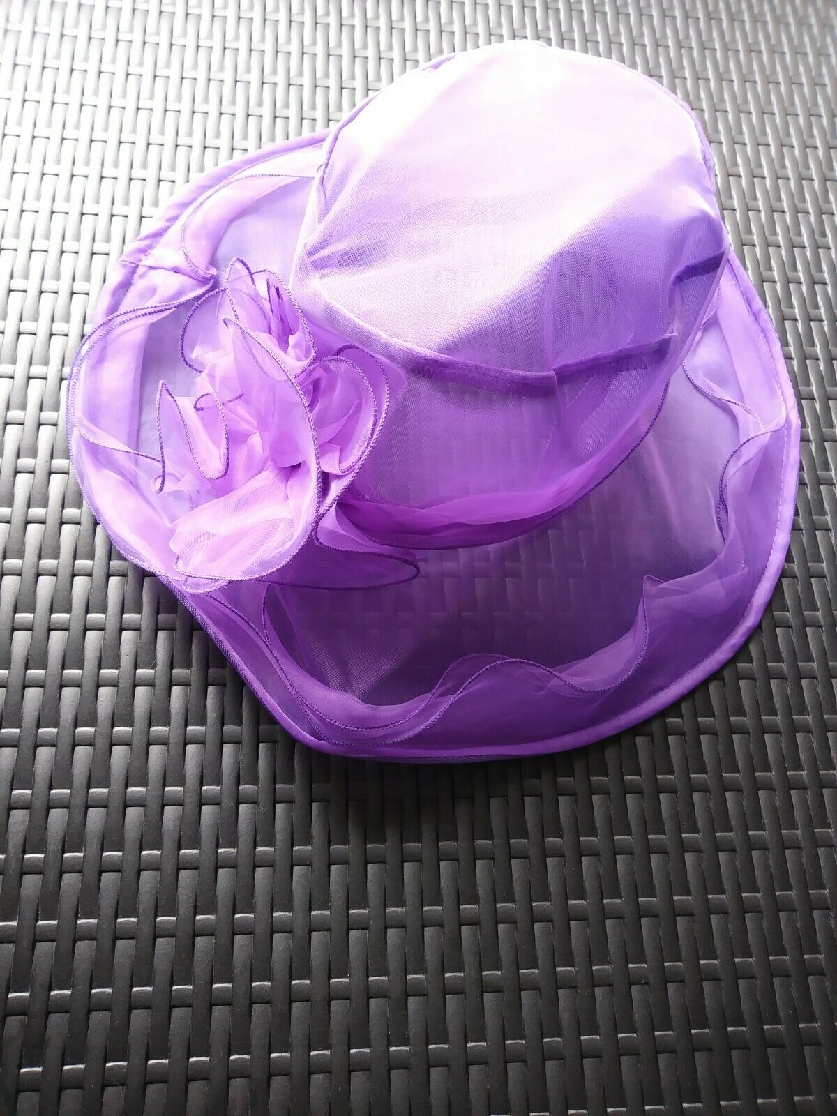 Ladies Wedding Derby Races Cocktail Formal Occasions PURPLE Hat