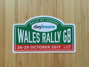 WALES-RALLY-GB-OFFICIAL-2017-STICKER-RALLY-OF-LEGENDS-BRAND-NEW-MINT-COND