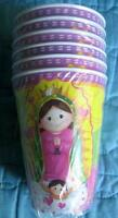 Virgencita Guadalupe Party Baptism Cups Lupita Fiesta Virgen Decoration X12 Vaso