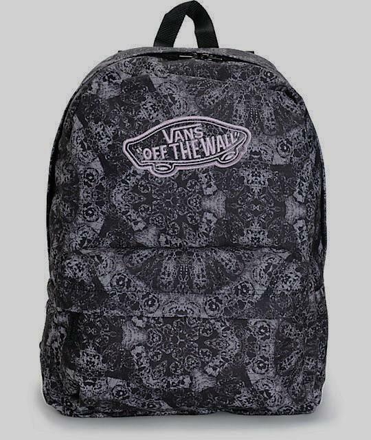 VANS Realm Classic Patch Kaleidoscope Black Print Backpack Bookbag for sale  online  ef4f55128fec9