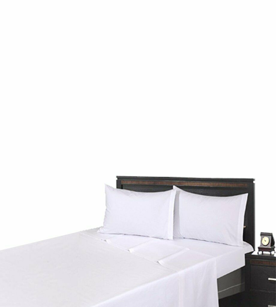 Gold TEXTILES Fitted Sheet Weiß T-200 PolyCotton PolyCotton PolyCotton Percale Hotel Linen Extra Soft 02a0ec