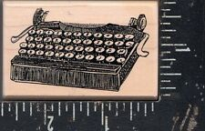 Dynamite Wood Mounted Rubber Stamp Antique Typewriter NEW!!