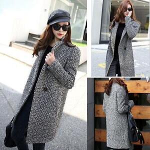 Winter-Outwear-Women-Parka-Overcoat-Trench-Coat-Ladies-Medium-Long-Warm-Jacket