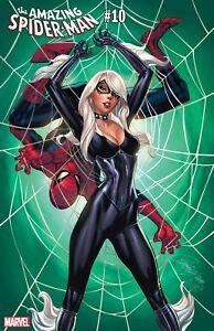 AMAZING SPIDER-MAN #10 J SCOTT CAMPBELL BLACK CAT VARIANT (28/11/2018)