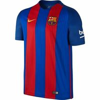 Nike Barcelona Season 2016 - 2017 Home Soccer Jersey Red Royal Kids - Youth