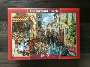 "Brand New Castorland Puzzle 1500 Pieces Ristorante Tartufo 27"" x 17.5"" C-151738"