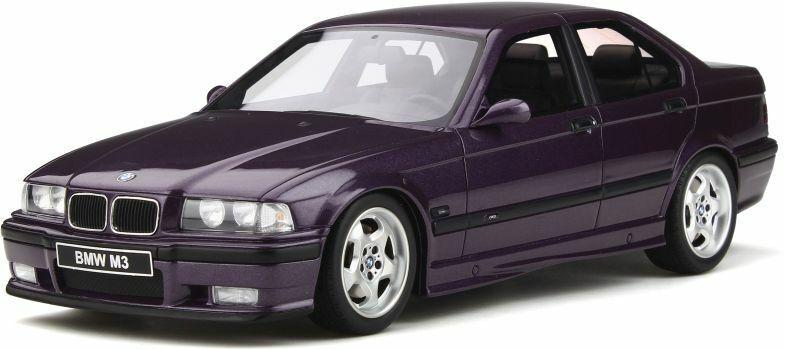 OTTO MOBILE 307 BMW E36 M3 purple 1998 313 BMW E24 635 CSi 1982 model cars 1 18