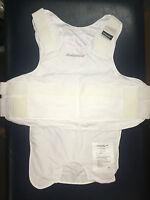 Carrier For Kevlar Armor- White 2xl- Body Guard Brand + Bullet Proof Vest +new+