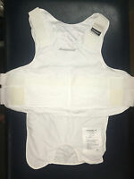 Carrier For Kevlar Armor- White 2xl- Body Guard Brand + Bullet Proof Vest +new+