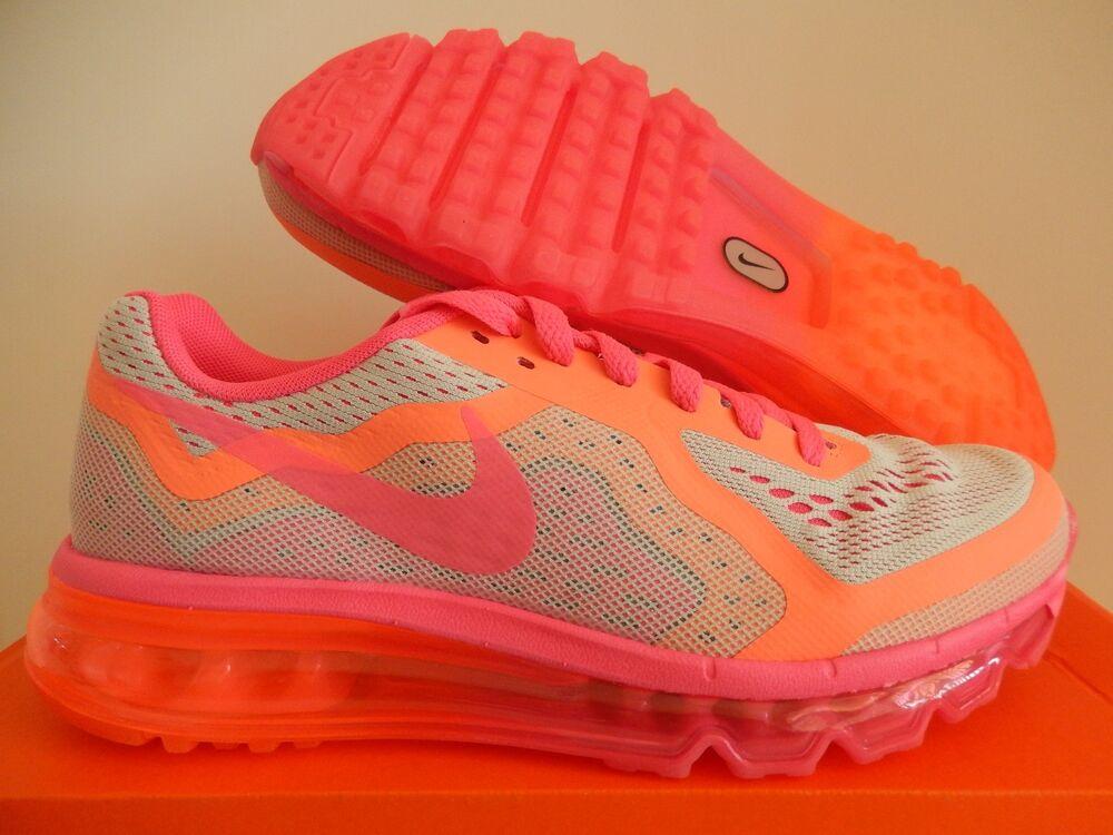 best sneakers 9bea1 26d1f NIKE AIR AIR AIR MAX 2014 PLATINUM Rose HommesGO Homme pour Chaussures de  sport 2e89bc