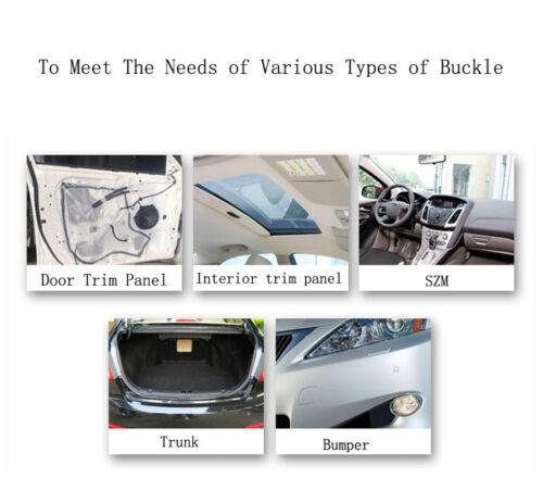 30x SUV Car Upholstery Clip Plier Screwdriver Fastener Remover Repair Tool Set