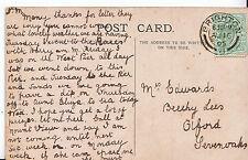 Genealogy Postcard - Family History - Edwards - Olford - Sevenoaks  A1264