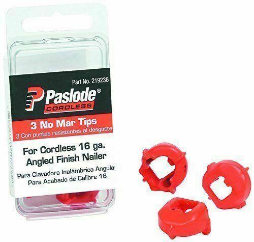 219236 liondiamondtools Paslode Part # 219236  No-Mar Tips, 16 ga. Trim Tools, 3-pack