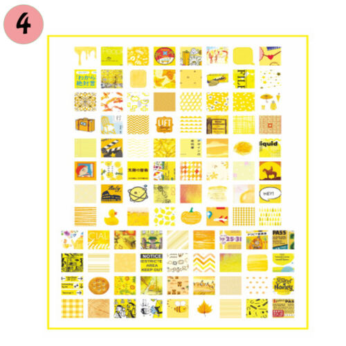Scrapbooking DIY Craft Journal Decor Diary Label Planner Sticker Paper Stickers