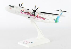 Skymarks-SKR932-Caribbean-Airlines-ATR-72-600-Desk-Display-Model-1-100-Airplane