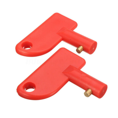 2x Battery Isolator Disconnect Cut Off Power Kill Switch For Car Truck Marine
