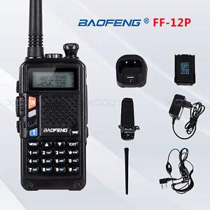 Baofeng FF-12P 5W VHF UHF Dual Band CTCSS DCS FM Ham Walkie Talkie Two-way Radio