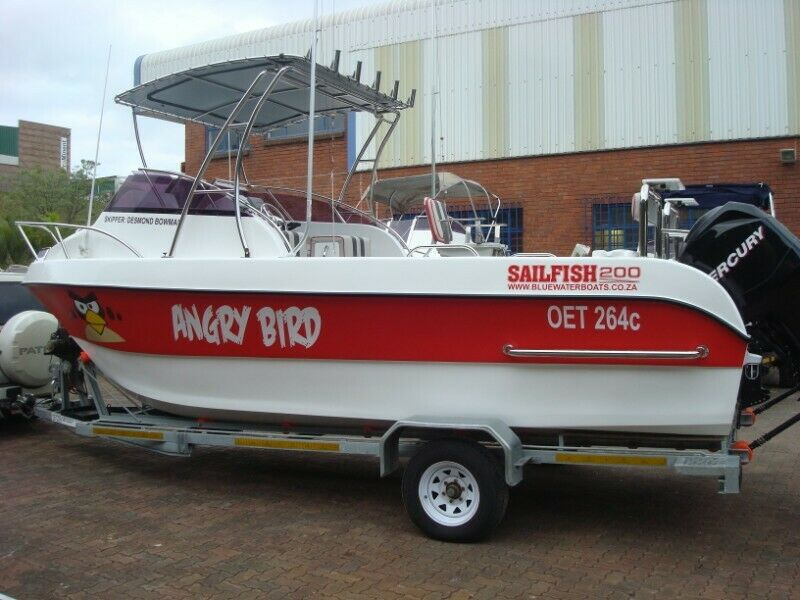 SAILFISH 200 FORWARD CONSOLE