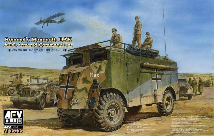 Véhicule blindé de Commandement MAMMOTH DAK, WW2    - KIT AFV CLUB 1 35 n° 35235 6a5d71