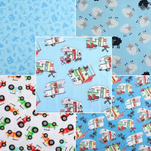 Caravan Tractor Seep By Henry Glass Craft Quilting Cotton Fabric FQ Bundle Meter