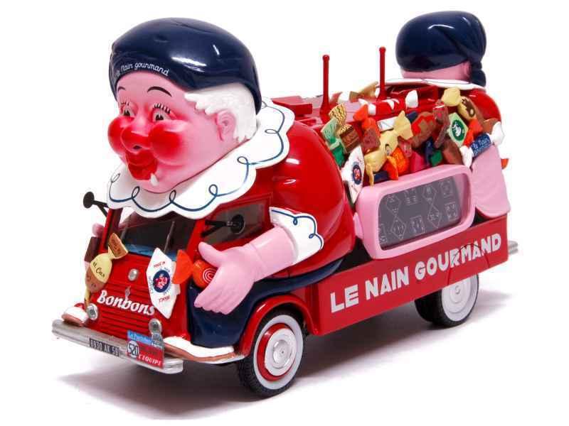 Renault 1400KG 1952- LE NAIN GOURMAND - Caravane Tour de france 1 43 PM0091