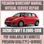 *WORKSHOP MANUAL SERVICE /& REPAIR GUIDE for SUZUKI SWIFT II 2005-2010 WIRING