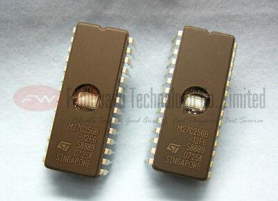 STMicroelectronics M27C256B-15XF1 27C256 32K x 8 UV EPROM CDIP-28 x 1pc