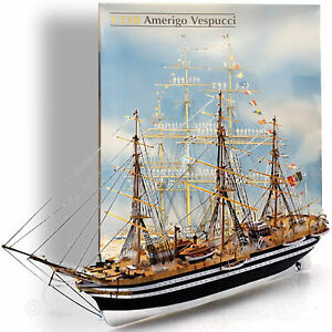 HELLER-1-150-039-AMERIGO-VESPUCCI-039-STEEL-HULLED-THREE-MAST-OF-THE-MARINA-MILITAIRE