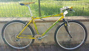 Bici-Mountain-bike-Saccarelli-Shimano-Deore-XT-acciaio-bike-steel-fahrrad-MTB