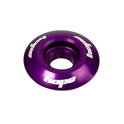Hope Headset Bike Stem Top Cap - Purple