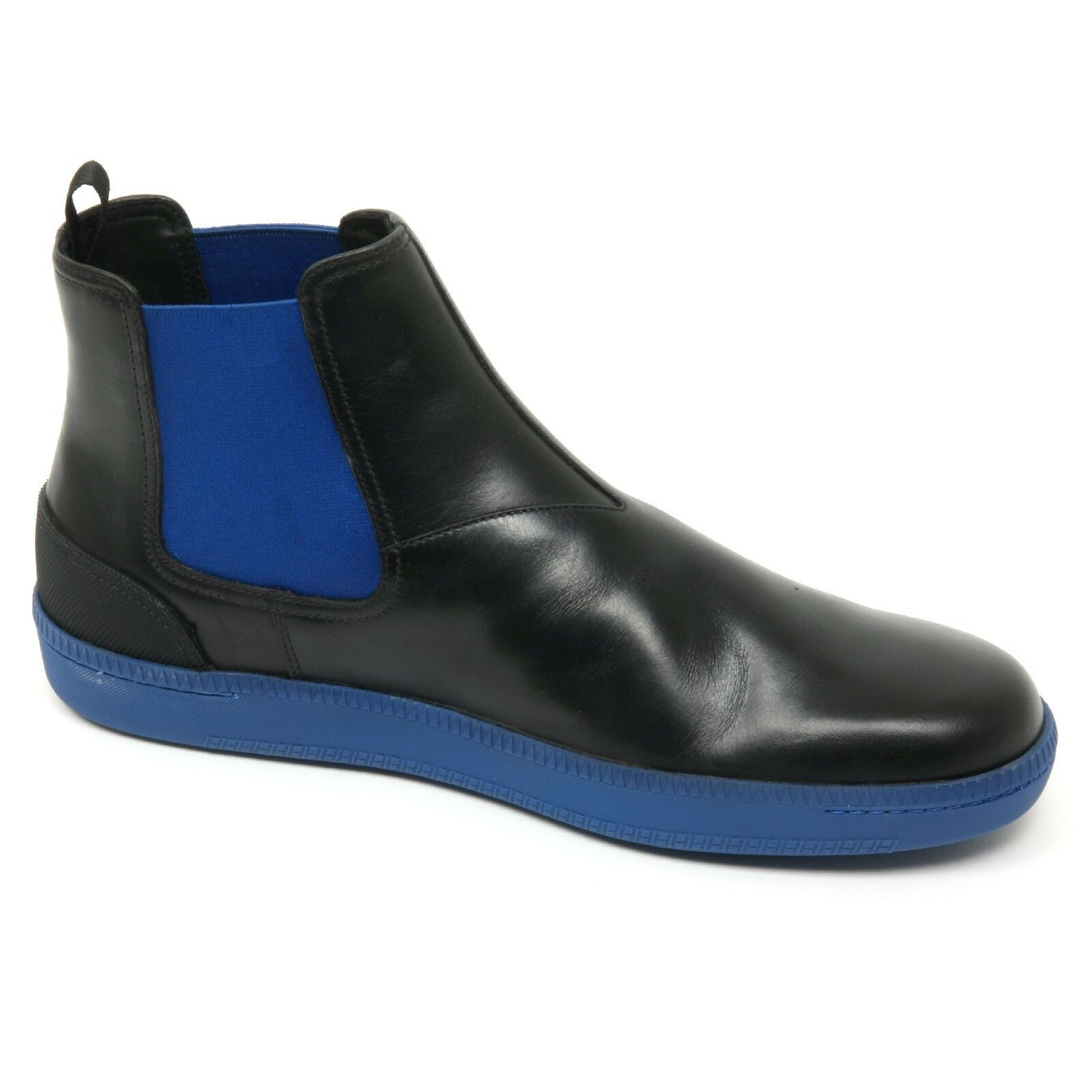 B8866 KUT810 polacchino uomo CAR SHOE KUT810 B8866 scarpa Blautte/nero boot shoe man cdb46b