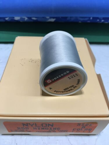 Gun Metal 1011 Gudebrod Fishing Rod Winding thread Nylon Size A 1 Spo...