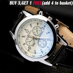 UK-Business-Watch-Men-039-s-Leather-Army-Casual-Analog-Quartz-Boys-Wrist-Watches