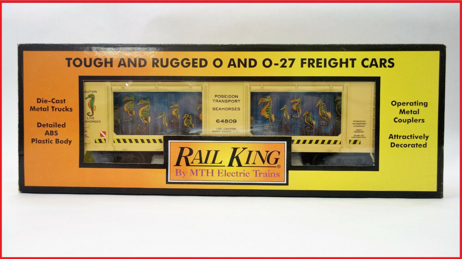 NUOVO in scatola MTH O Gauge RAIL re 3079353 CAVtuttiUCCIO MARINO trasporto che effettuano AUTO