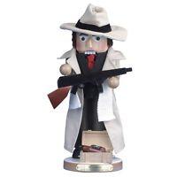 2015 Kurt Adler Le Steinach Al Capone Nutcracker 1st Villians Series,