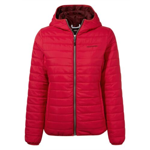 Haut Femme Craghoppers Compresslite III Veste à capuche-hiver rose