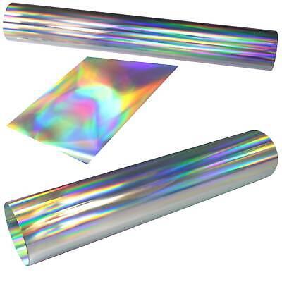 Oil-slick Chrom Plotterfolie Rainbow Vinylfolie Auto Folie 100cm Breit Hologramm