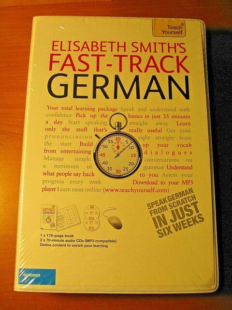Fast In German >> Elisabeth Smith S New Fast Track German 2cds Instruction Booklet Beginner
