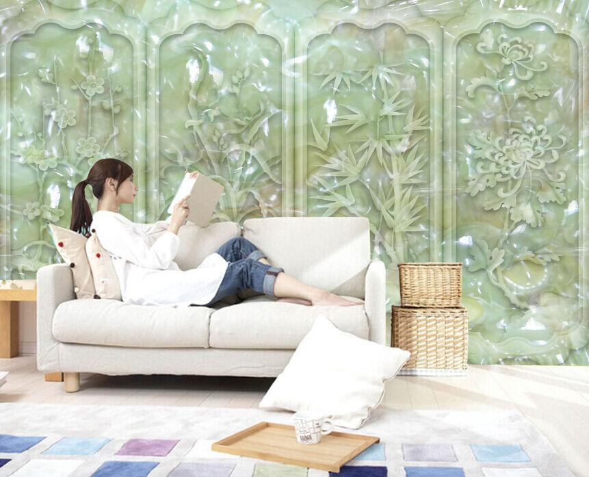 3D Jade Boutique 4900 Fototapeten Wandbild Fototapete BildTapete Familie DE