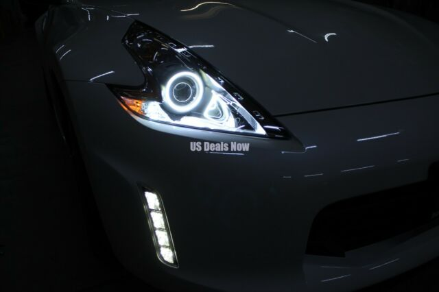 Angel Eye LED Ring For 2009-2015 Nissan 370z Xenon White 6k Halo Z34 Fairlady