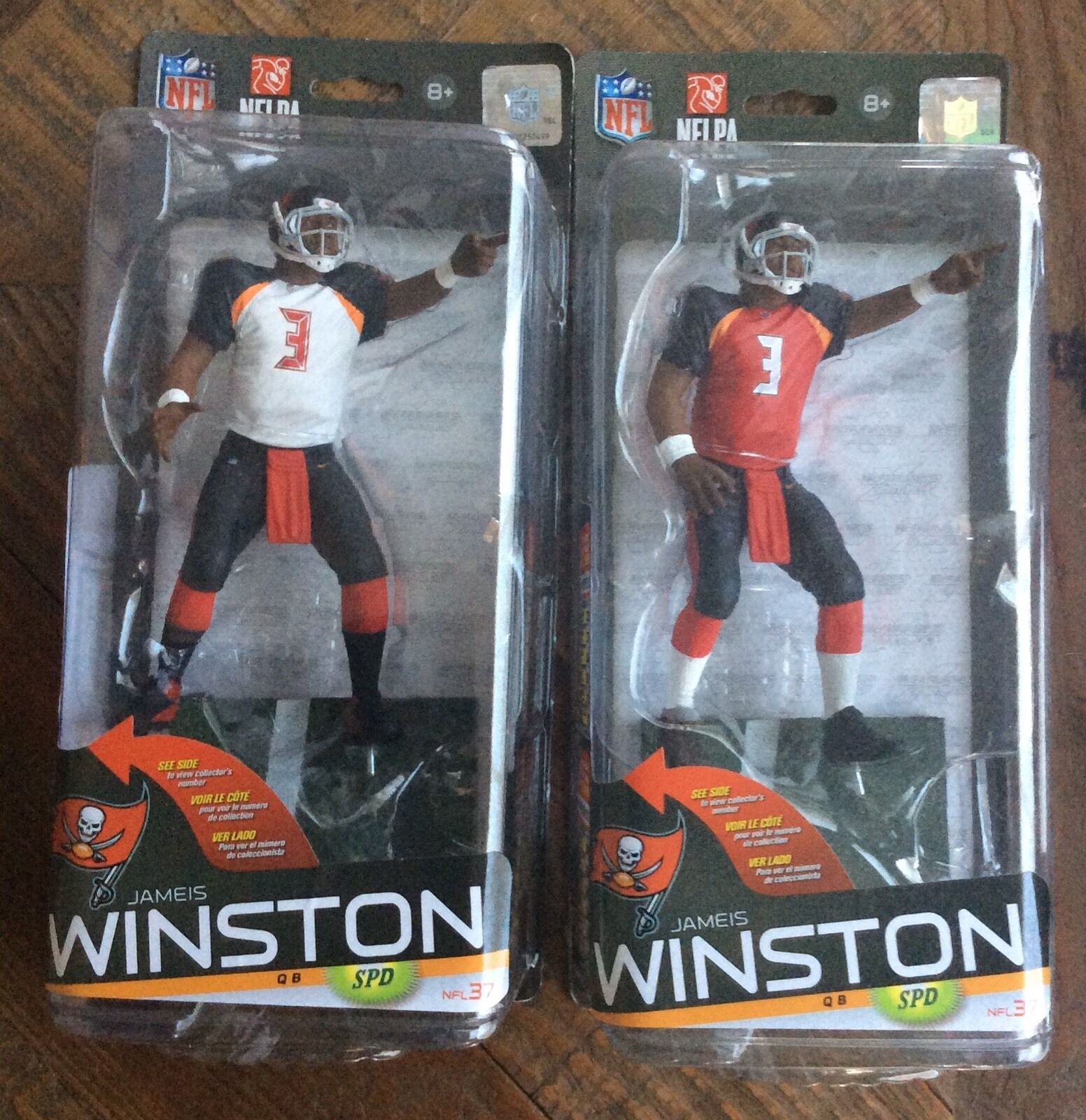 Jameis Winston Winston Winston Chase McFarlane  With Regular NFL Series 37   2500 MIP VHTF  fad303